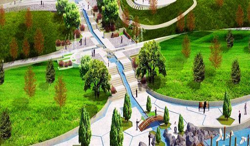 طرح پروژه رود پارک مشهد