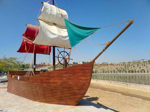 قایق سواری در رودپارک مشهد