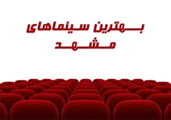 لیست تمام سینماهای مشهد