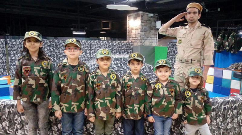 مشاغل مختلف در پارک کودک کارالند مشهد
